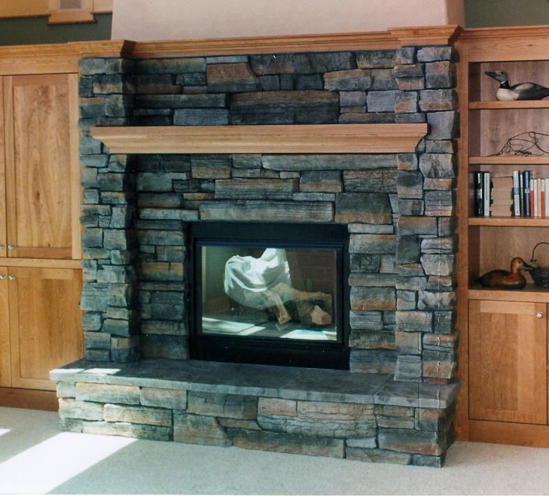 Bedroom Fireplace Design