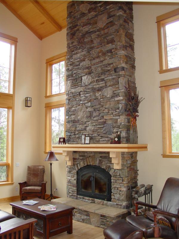 Interior Walls With Stone Heritage Hearths Masonry Kalispell Montana Secrets Of Segreto