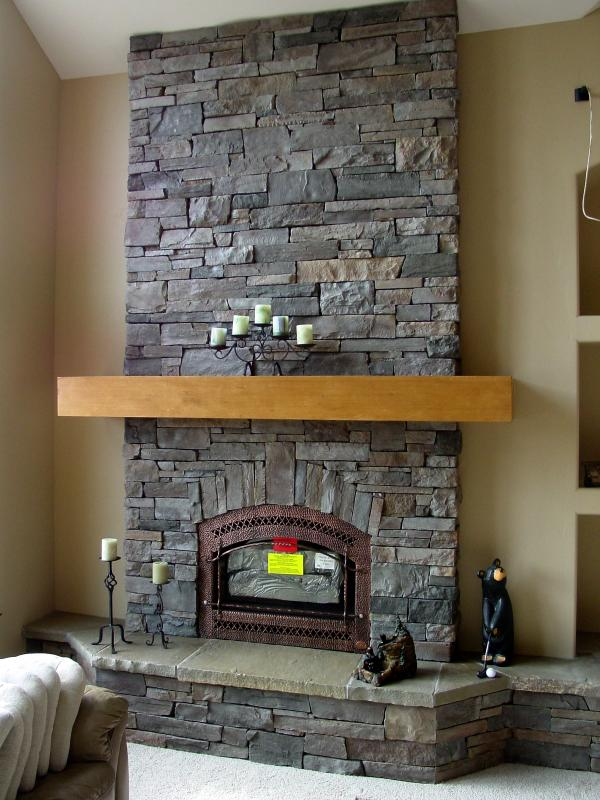 Fireplace With Raised Hearth Heritage Hearths Masonry Kalispell Montana Living Room Ceiling